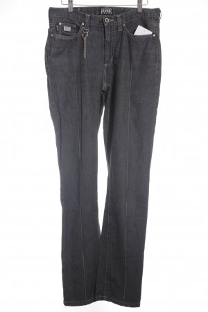 Gianfranco Ferré Straight-Leg Jeans schwarz Casual-Look