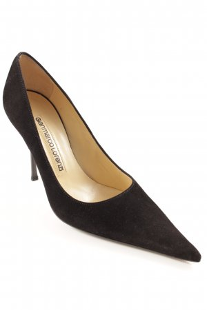 Gianmarco Lorenzi High Heels schwarz Elegant