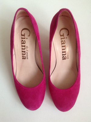 Gianna Wildleder Pumps pink 36