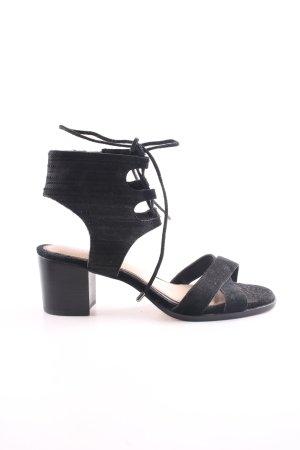 Gianni Bini Riemchen-Sandaletten schwarz Casual-Look