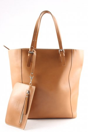 Gianni chiarini Carry Bag light brown simple style