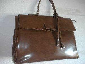 Gianni chiarini Bolso barrel marrón claro Cuero