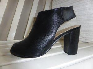 Gianni VERSACE 19:69 Ankle Boot, wie neu, schwarzes Leder (vorm. 209,00 €)