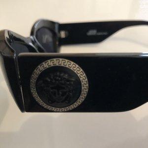Gianni Versace Sunglasses black-silver-colored