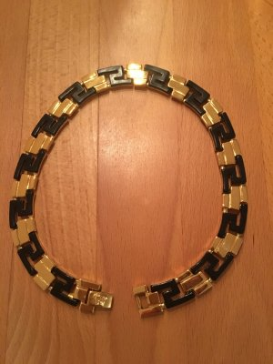 Gianni Versace Collier Necklace black-gold-colored