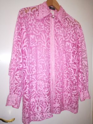 Gianni Versace Atelier, Pink Bluse,Gr. 42