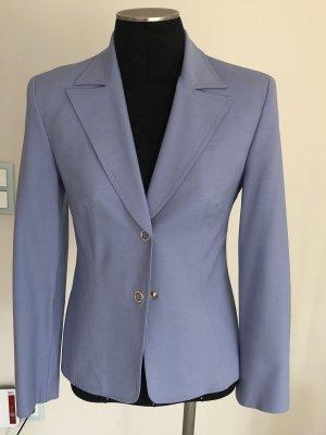 Gianni Versace Wool Blazer purple