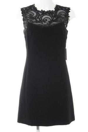 Gianni Versace Cocktailkleid schwarz Elegant