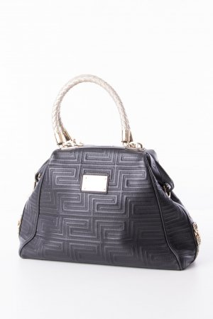 Gianni Versace Handbag black-gold-colored leather