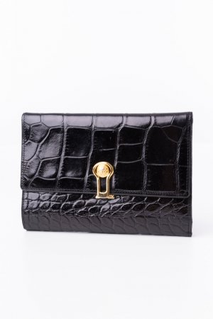 Gianni Versace Wallet black leather