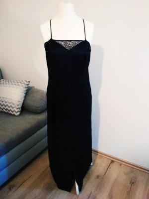 Gianni Versace Négligé noir soie