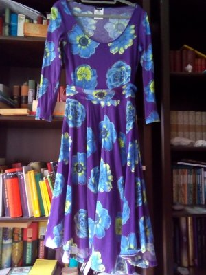 Gianni Versace Jeans Cuture Blumen Kleid made in Italy Gr. 34/ 36