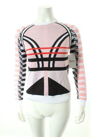 Gianni Versace Rundhalspullover abstraktes Muster extravaganter Stil