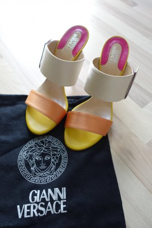 Gianni Versace High Heel Sandal multicolored