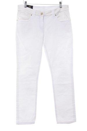 Gianni Versace Skinny Jeans weiß Casual-Look
