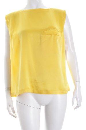 Gianni Versace Top gelb minimalistischer Stil