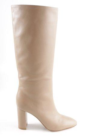 Gianvito rossi Absatz Stiefel beige Elegant