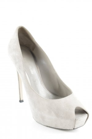 Gianvito rossi Platform Pumps beige party style