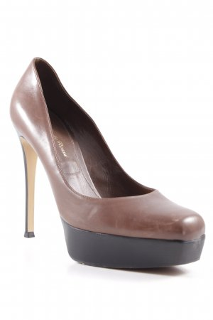 Gianvito rossi Platform Pumps brown-black elegant