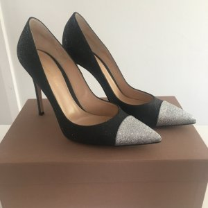 Gianvito rossi Pumps black-silver-colored