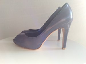 Gianvito rossi Peep Toe Pumps grey