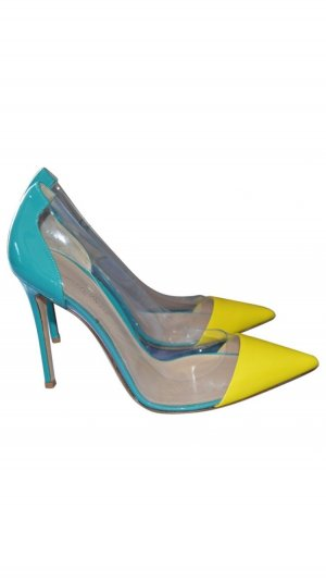 Gianvito rossi High Heels yellow-turquoise