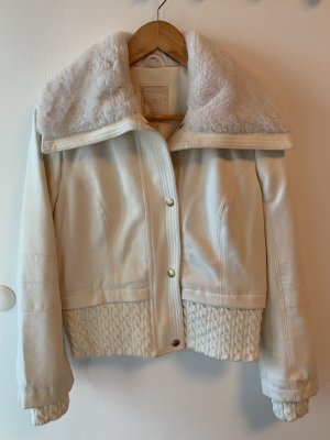 Guess Fake Fur Jacket multicolored