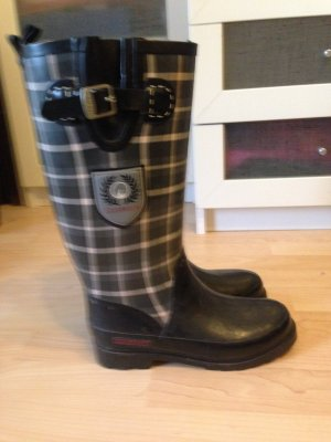 Giesswein Wellies black synthetic material