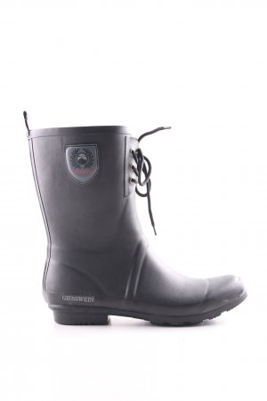 Giesswein Wellies black casual look