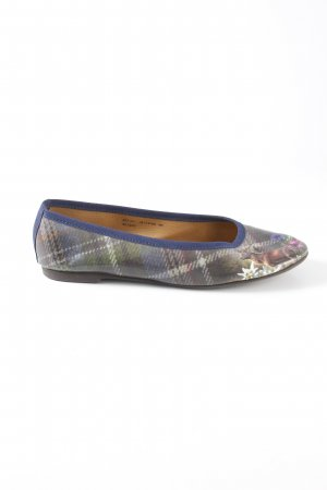 Giesswein Patent Leather Ballerinas glen check pattern casual look