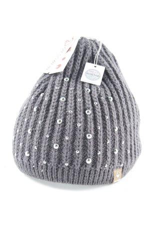 Giesswein Knitted Hat dark grey casual look
