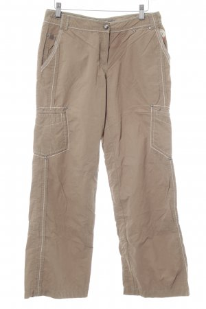Giga Dx Cargo Pants beige casual look