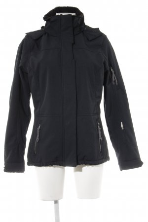 Giga Dx Outdoorjacke anthrazit meliert Casual-Look
