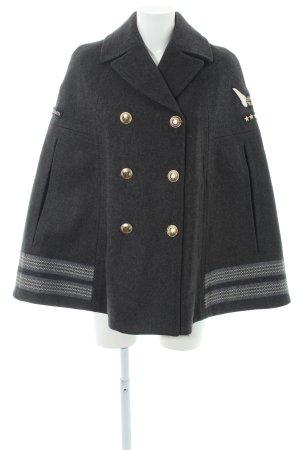 Gigi Hadid x Tommy Hilfiger Cape dunkelgrau Military-Look