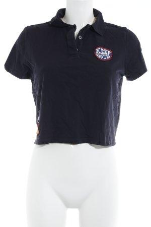 Gigi Hadid x Tommy Hilfiger Cropped shirt veelkleurig atletische stijl