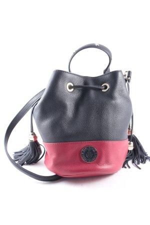Gigi Hadid x Tommy Hilfiger Handtasche dunkelblau-ziegelrot Casual-Look