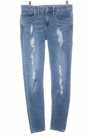 Gigi Hadid x Tommy Hilfiger Skinny Jeans blau Casual-Look