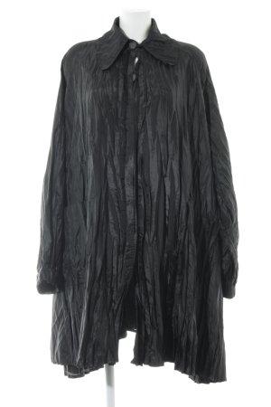 Gigli Oversized Mantel schwarz Elegant