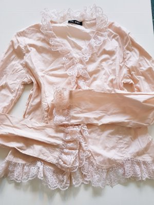 GIL BRET Bluse rosé apricot Baumwolle Gr. 38