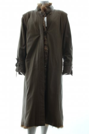 Gil Bret Down Coat dark brown quilting pattern casual look
