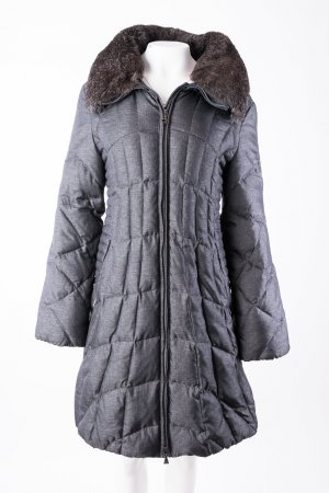 Gil Bret Down Coat dark grey-black polyamide