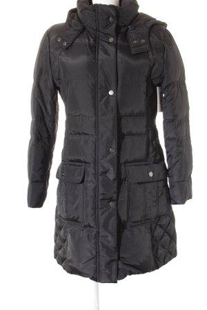 Gil Bret Lange Jacke schwarz klassischer Stil