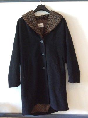 Gil Bret Manteau en laine noir-brun