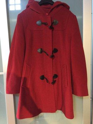 Gil Bret Cappotto in lana rosso scuro