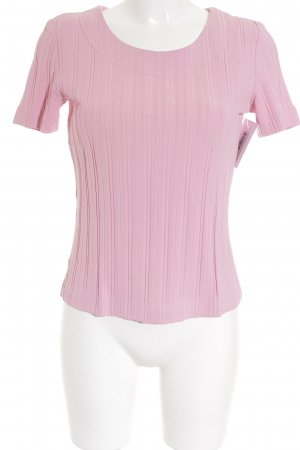 Gil Bret Rippshirt rosa Streifenmuster Street-Fashion-Look