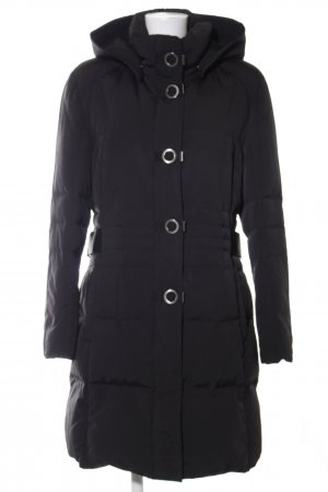 Gil Bret Quilted Coat black casual look