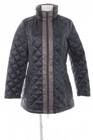 Gil Bret Gewatteerde jas donkerblauw quilten patroon casual uitstraling