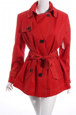 Gil Bret Trenchcoat rot Casual-Look