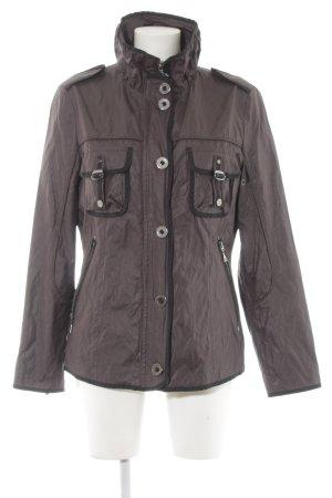 Gil Bret Übergangsjacke graulila-schwarz 90ies-Stil