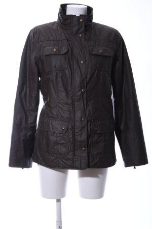 Gil Bret Waxed Jacket black casual look